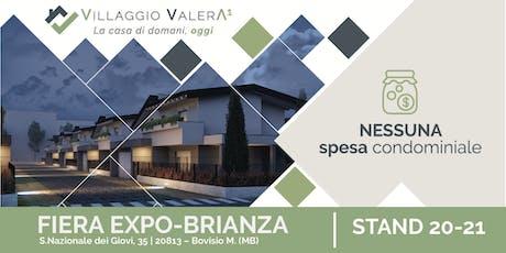 Presentazione Villaggio Valera a Expo Brianza biglietti