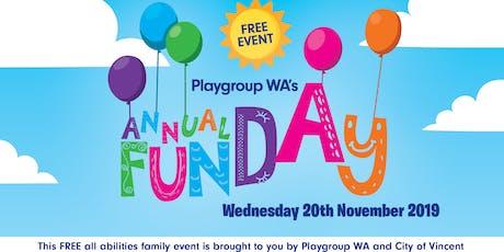 Playgroup WA: Annual Fun Day tickets