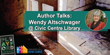 Author Talks: Wendy Altschwager tickets