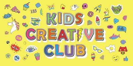 Kids Creative Club Term 4 - Richmond tickets