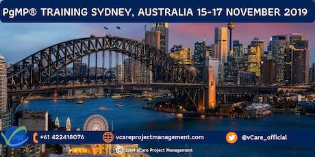PgMP | Program Management Training | Course | Sydney | November | 2019 tickets