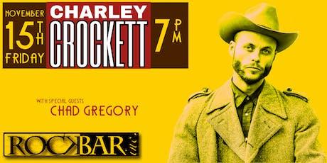 CHARLEY CROCKETT - Live in Scottsdale tickets