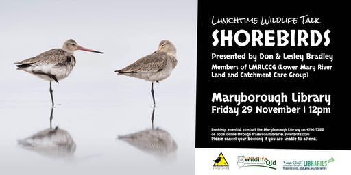 Wildlife Talk - Shorebirds presented by Don & Lesley Bradley - Maryborough Library