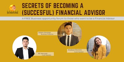 HOW TO BE A (SUCCESSFUL) FINANCIAL ADVISOR.