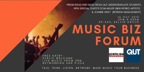 Music Biz Forum (QUT) tickets