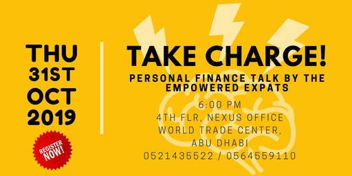 TAKE CHARGE!: A FREE PERSONAL FINANCE TALK FOR FILIPINO EXPATS