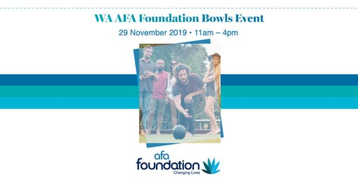 WA AFA Foundation bowls event