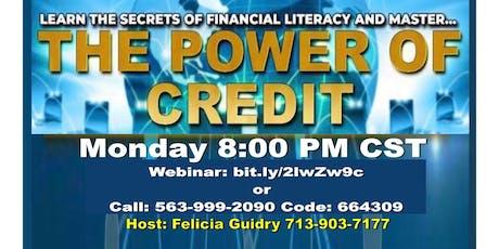 Entrepreneur Credit Repair Business - Houston Call tickets
