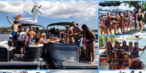 #Miami boat party