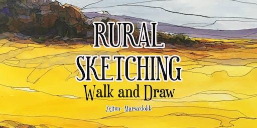 Rural Sketching - Walk and Draw