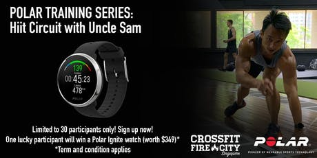 Polar Training Series: Hiit circuit by Uncle Sam tickets