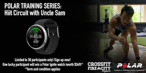 Polar Training Series: Hiit circuit by Uncle Sam