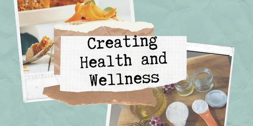 Low tox and Raw treats workshop: Creating Health and Wellness