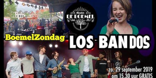 Zondagmiddagconcert Los Bandos in theater De Boemel