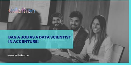 Become the next data scientist at Accenture tickets