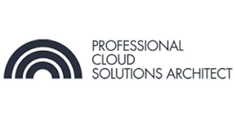 CCC-Professional Cloud Solutions Architect(PCSA) 3 Days Virtual Live Training in Hamburg billets