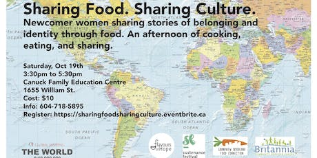 Share Food. Sharing Culture.  tickets