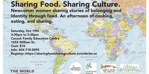 Share Food. Sharing Culture.