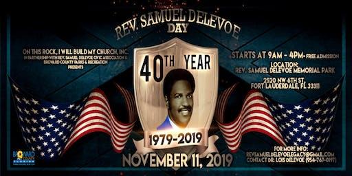 Rev Samuel Delevoe Day - 40th Anniversary Celebration
