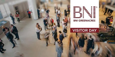 BNI Greenacres Visitor Day tickets