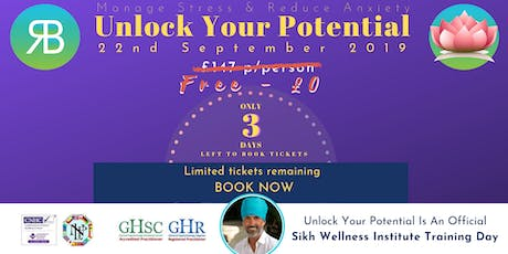Unlock Your Potential | Reduce Stress & Anxiety tickets