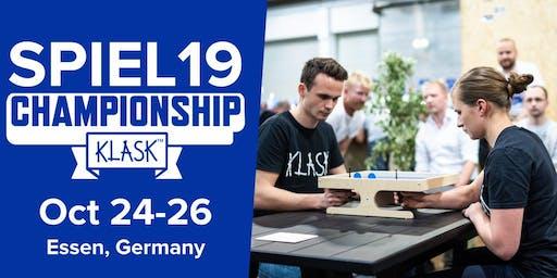 KLASK Championship Essen SPIEL19 - Qualifications