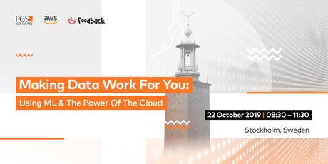 Making Data Work For You: Using ML & The Power Of The Cloud tickets