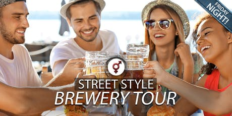 Street Style Brewery Tour | Age 24-39 | November tickets