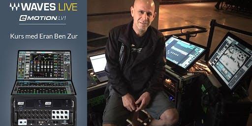 Eran Ben Zur presenterer Waves LV1 mikser 24. oktober Hos ProLyd Oslo