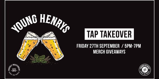 Young Henrys Tap Takeover