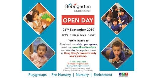 Open Day @ Bebegarten