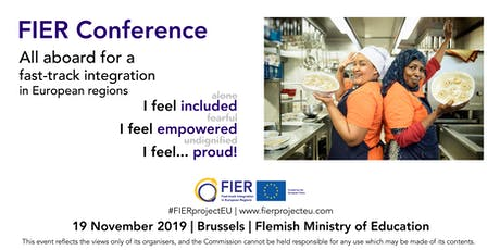 FIER Conference|All aboard for a fast-track integration in European regions billets