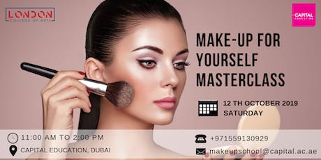 """Make-Up For Yourself"" Masterclass - LCA Capital Makeup School tickets"