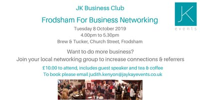 JK Business Club Frodsham For Business