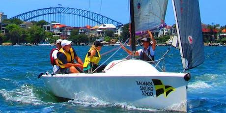 BSC Sailing School - Intro to Sail, Magic 25 Keelboat 10th November & 24th November 9am-4pm, 2 x 6hr classes tickets
