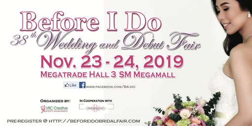 38th Before I Do - Wedding And Debut Fair