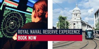 Royal Naval Reserve Experience - HMS Sherwood, Nottingham - 15/10/19