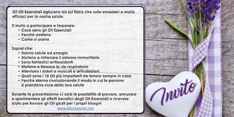 Milano Corso Gratuito sugli Oli Essenziali biglietti
