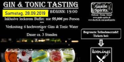 Gin & Tonic Tasting mit Guaile Spirits am 28.09.2019