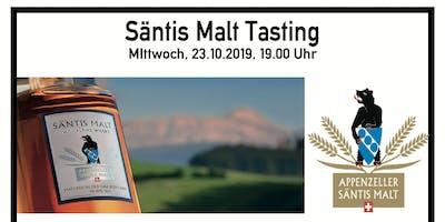 Exklusives Säntis Malt Tasting Mittwoch, 23.10.2019, 19.00 Uhr