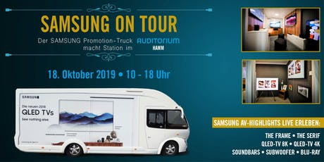 TV-Highlights LIVE erleben – SAMSUNG on Tour Tickets