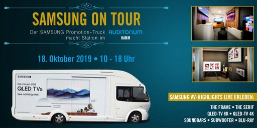 TV-Highlights LIVE erleben – SAMSUNG on Tour