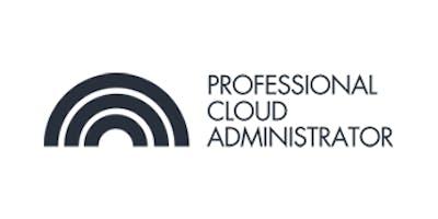 CCC-Professional Cloud Administrator(PCA) 3 Days Virtual Live Training in Frankfurt