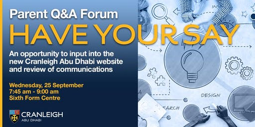 Q+A Forum - Cranleigh website and communications  discussion
