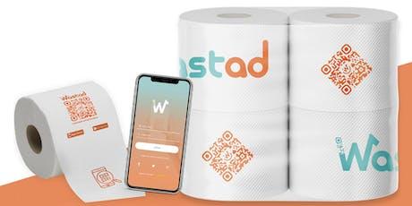 La carta igienica del futuro è interattiva biglietti