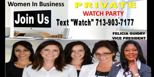 Women In Business-Watch Party-San Antonio