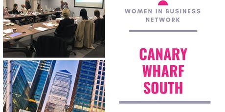 Women in Business Network - Canary Wharf Networking - London tickets