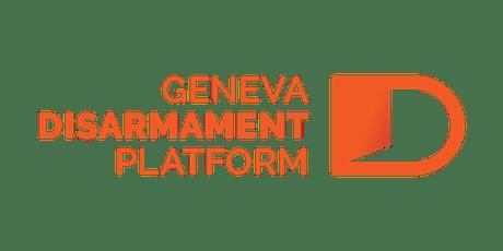 2019 Geneva Peace Week: Weapons Governance tickets
