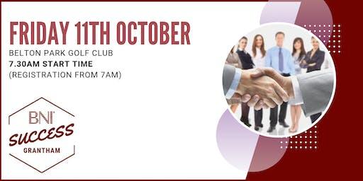 BNI Success Grantham - Network meeting 11th October