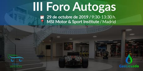 III Foro Autogas tickets